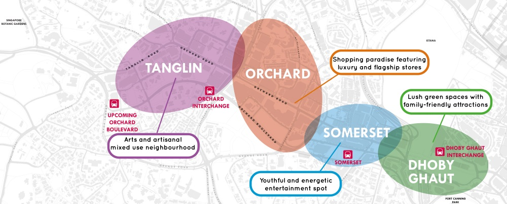 orchard precincts singapore