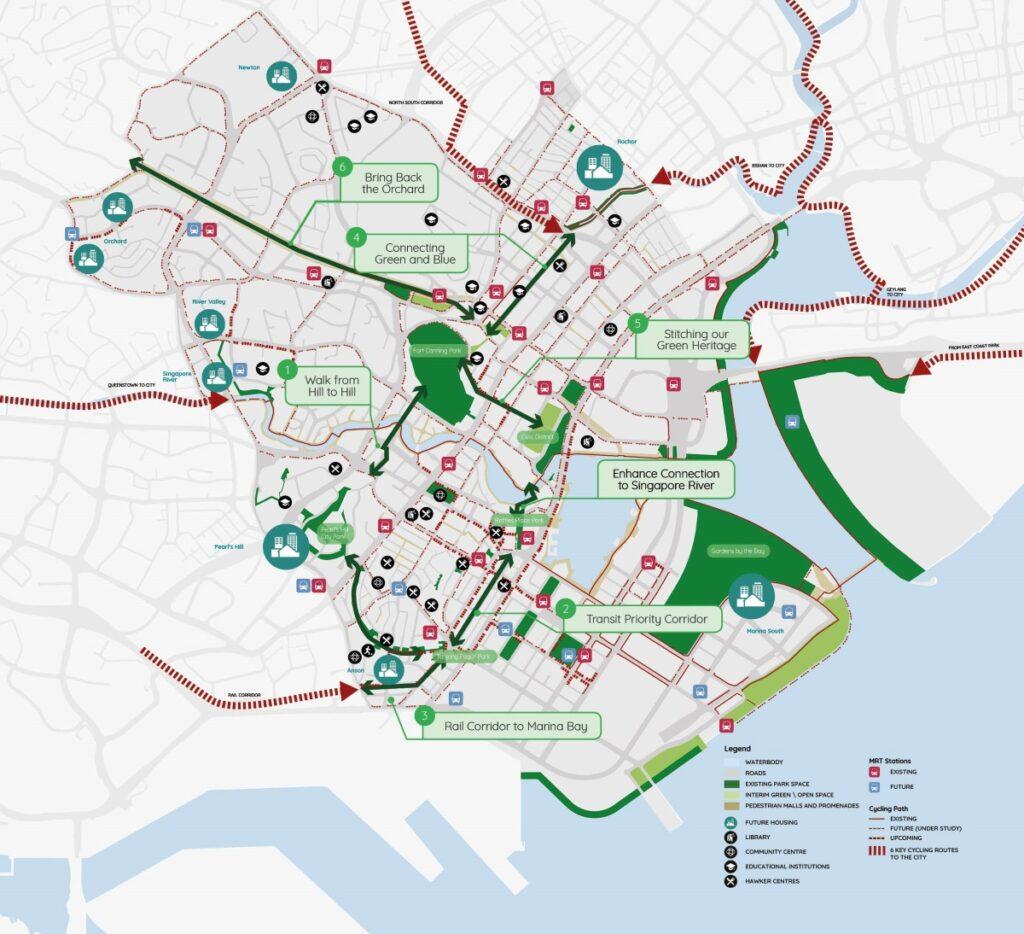 The Landmark - Central Region URA Master Plan