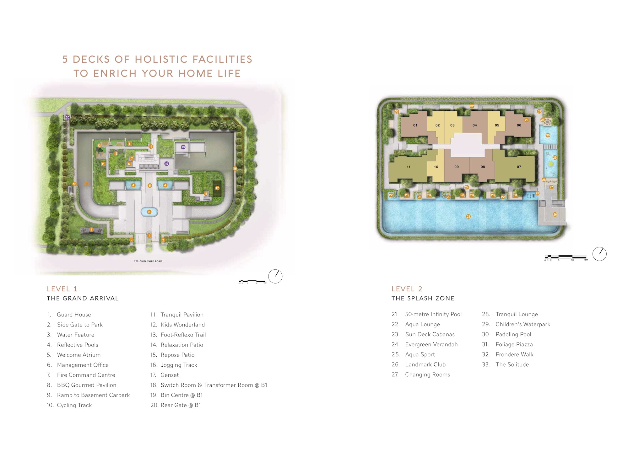 The Landmark Site Plan 1 Singapore